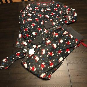 Other - Minky Fleece Pajama Set